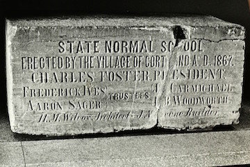 Cortland Normal School Cornerstone to be Rededicated at Old Main