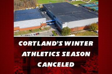 SUNY Cortland's 2020-21 winter athletics season canceled
