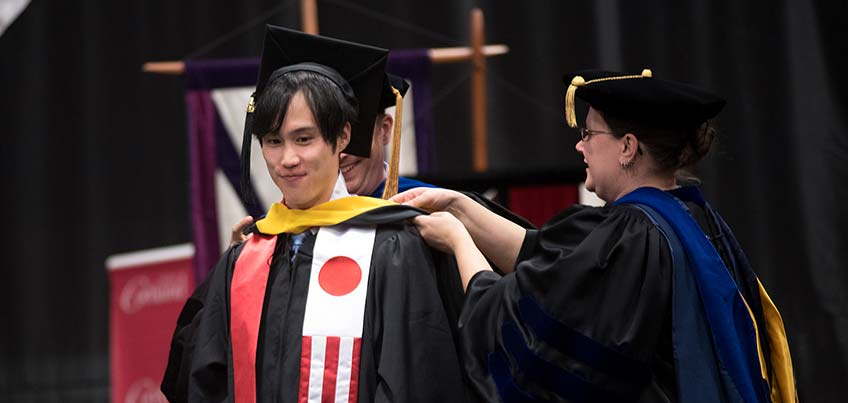 Hamilton College Graduation 2020.Commencement Suny Cortland