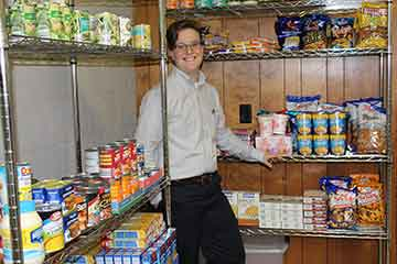 College Launches Student Food Pantry