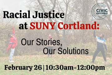 Racial justice workshop for SUNY Cortland faculty