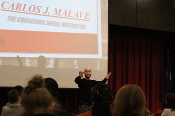 Carlos J. Malave '11 Translates His Success for Cortland Students