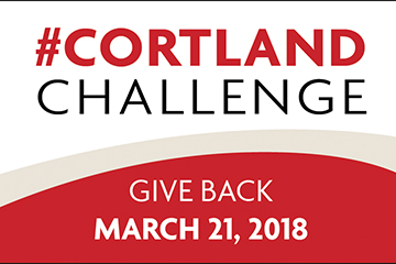 Help Us Meet The Cortland Challenge