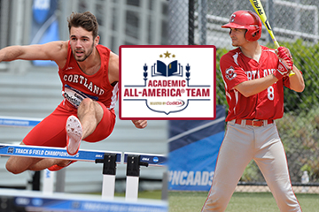 Two Red Dragon Athletes Named Academic All-Americans