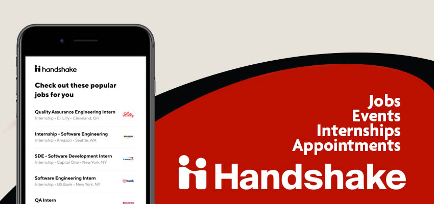Handshake: Jobs, Events, Internships, Appointments