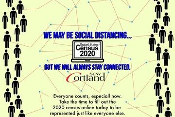Students should list Cortland as residence in 2020 Census