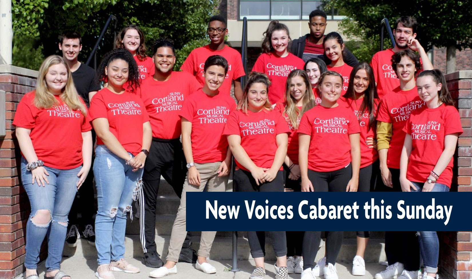 New Voices Cabaret this sunday