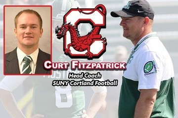 Cortland names Curt Fitzpatrick football head coach