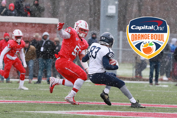 SUNY Cortland's Kyle Richard Won Orange Bowl Courage Award