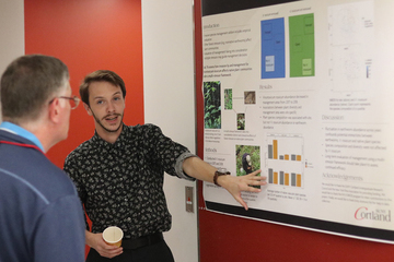 Students and alumni talk science at symposium
