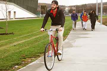 Campus Named 'Bicycle Friendly'