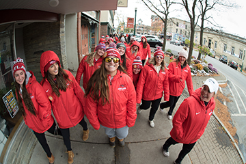 SUNY Cortland Supports CROP Hunger Walk