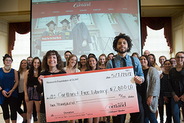 Class Awards $10,000 to Community