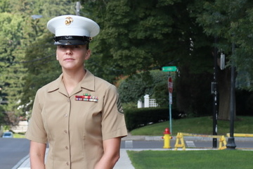 Sense of Duty Leads Carver to Marines, Back to SUNY Cortland