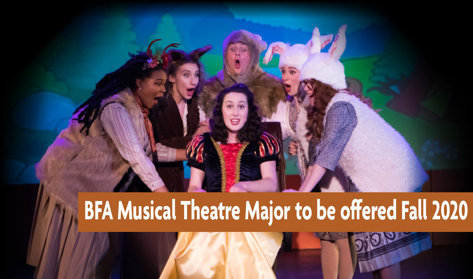 bfa musical theatre major to be offered fall 2020
