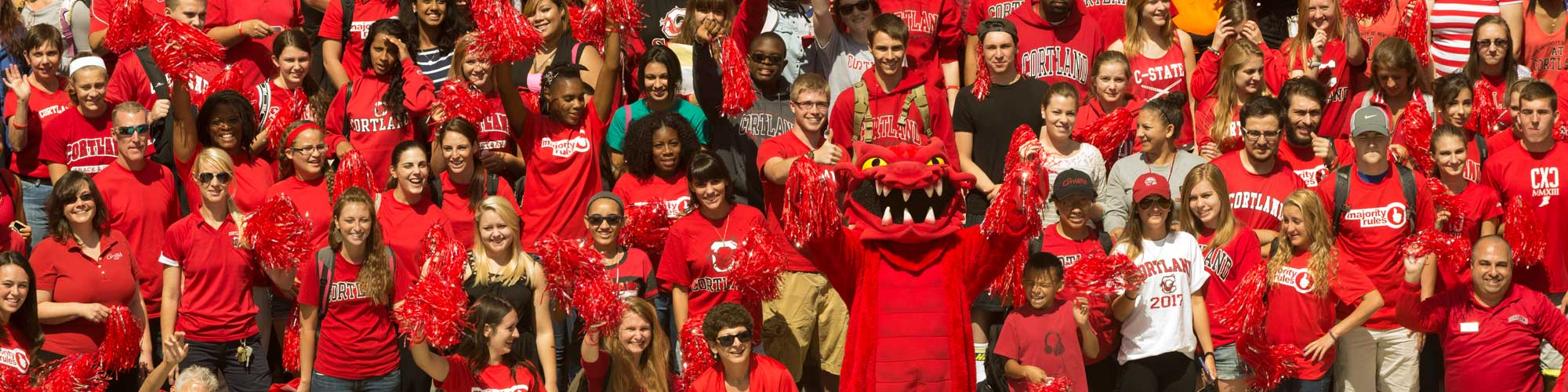 Red Dragon Pride Day campus photo in 2014