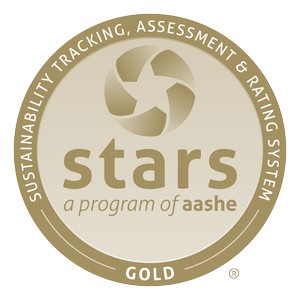 Sustainability Tracking, Assesment & Rating System Gold Seal