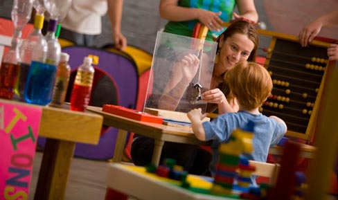 Children's Museum, Brand attribute - Teacher Education