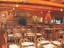 The interior of Fuge Dining Room