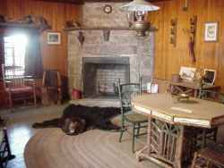 Interior of the Chalet-Photo Courtesy of Donald A. White