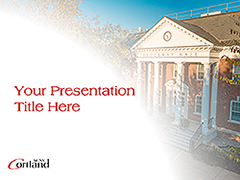 Brockway Hall Powerpoint template