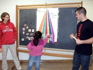 Cortland Health Students Volunteer with Migrant Education Outreach Program