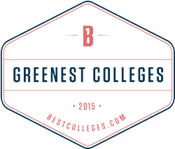 Greenest Colleges logo