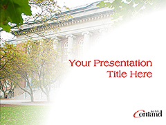 Old Main Powerpoint template