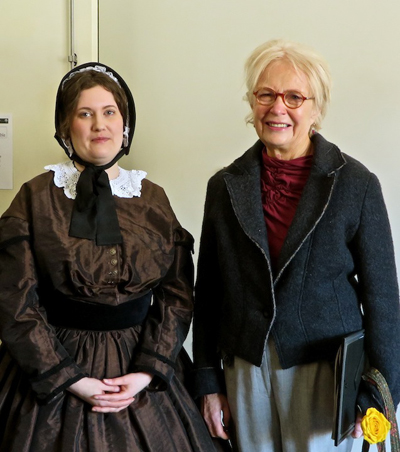 Mary Alice Bellardini (right)
