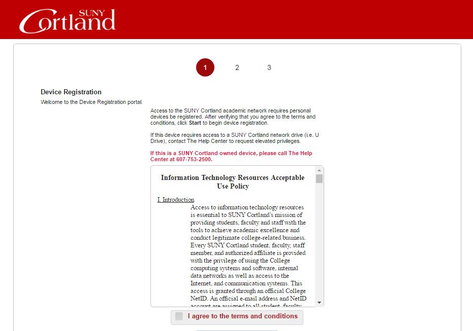 byod registration page