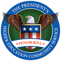 Logo: The President's Higher Eduation Community Service Honor Roll