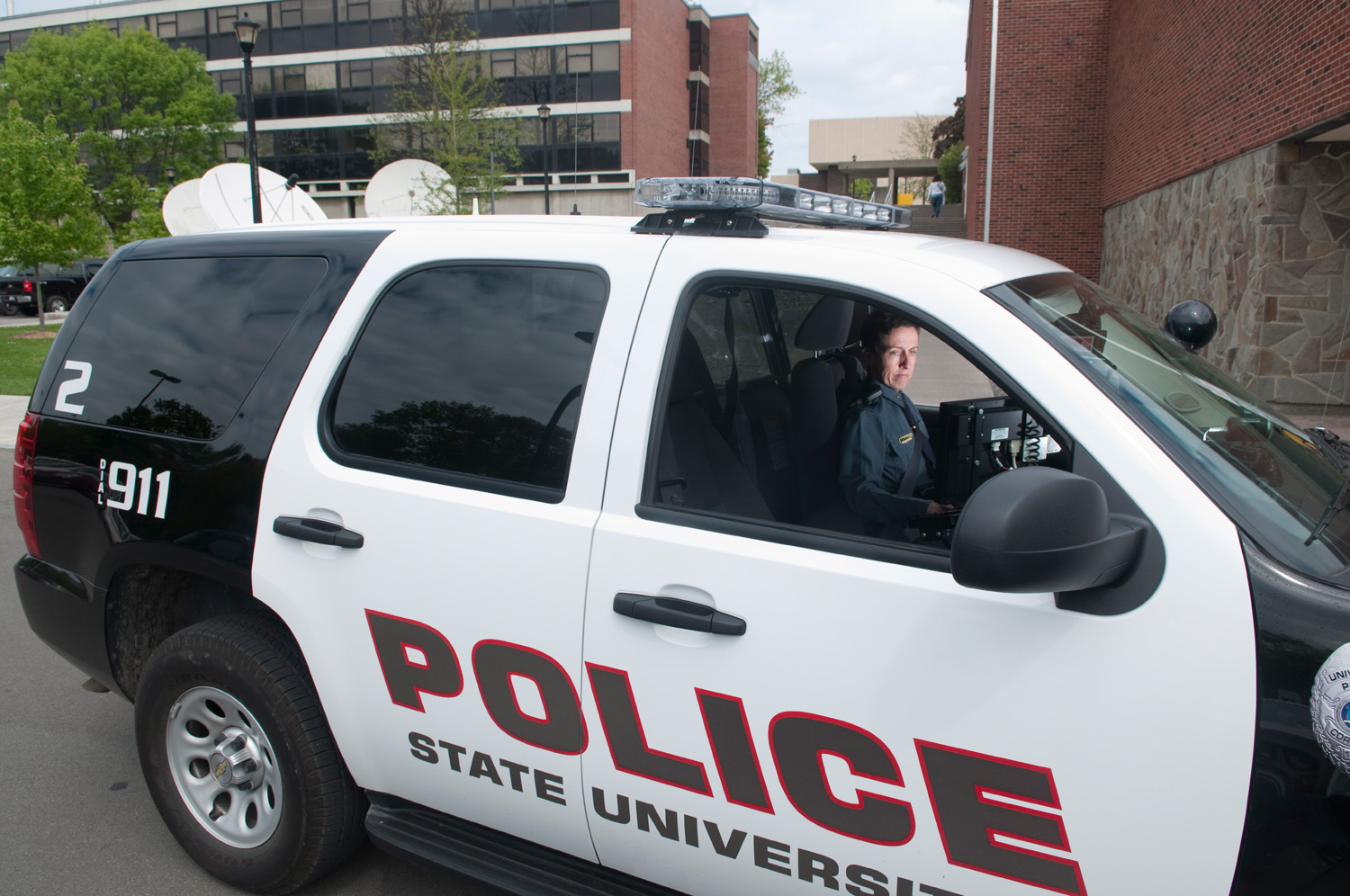 Picture of a University Police Vehicle