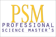 Professional Science Master's logo - link to more information