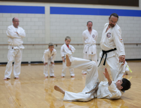 karate - group observation