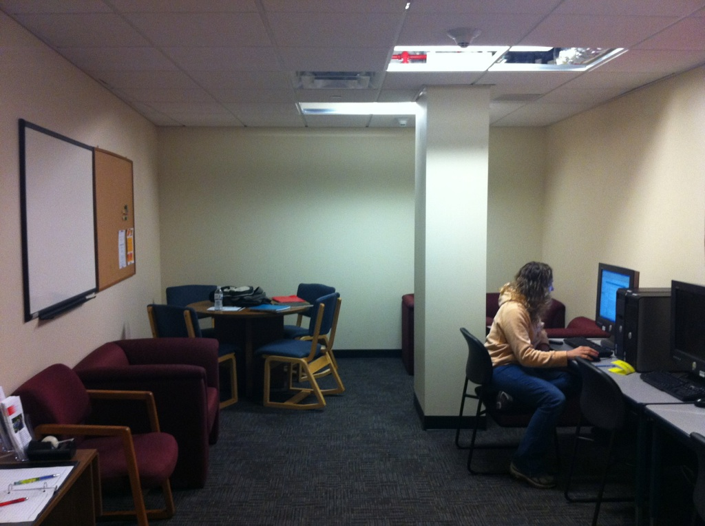 Non-Trad Student Lounge View 1