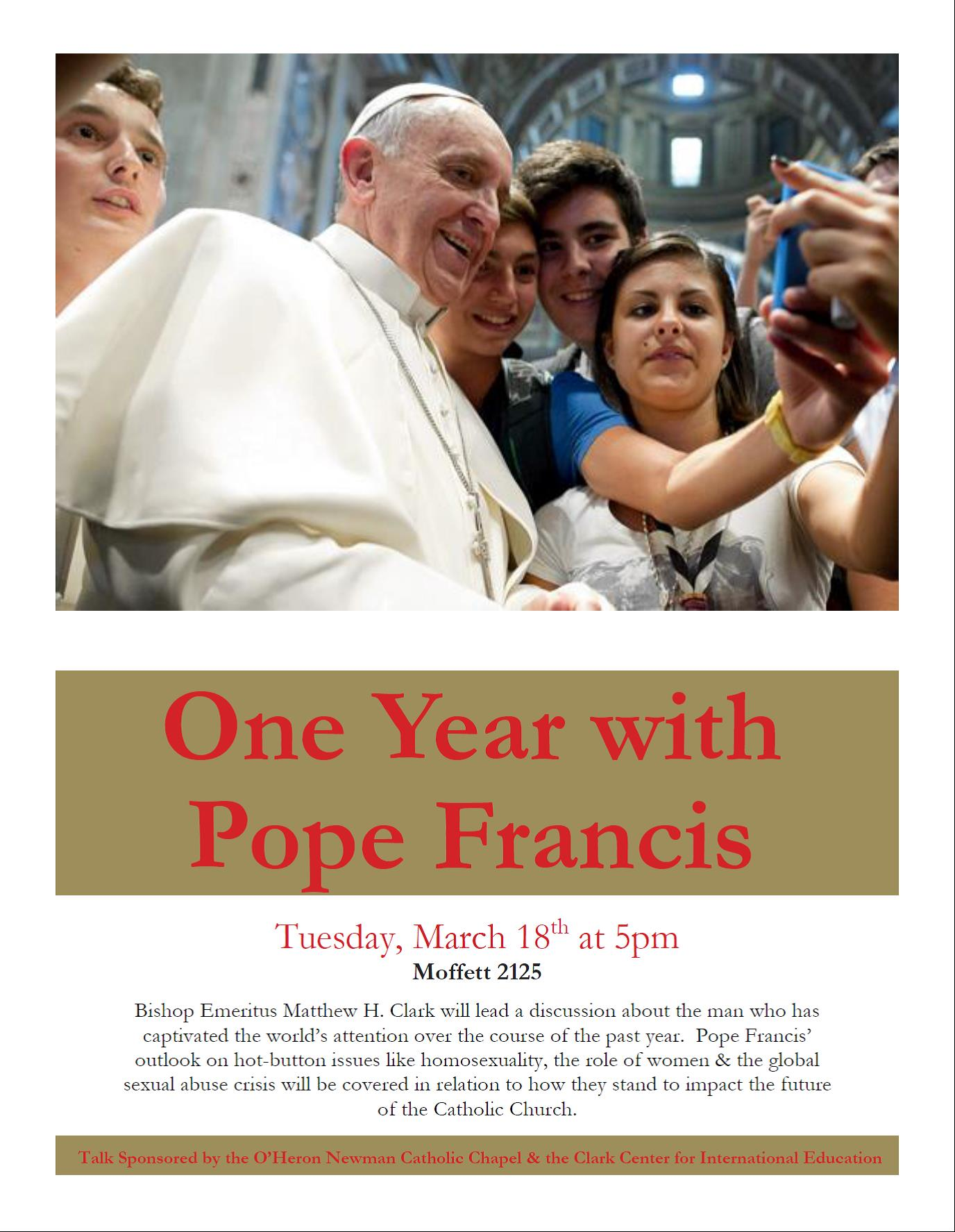 One Year with Pope Francis