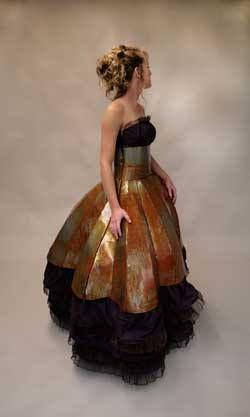 Lindsay Wilson BFA Cold Rolled Pleats