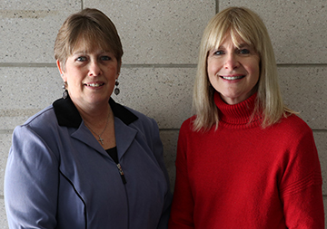 Lori Crandall and Barbara Conrad
