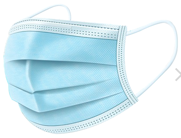 pleated medical grade surgical mask
