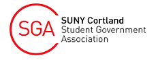 SGA SUNY Cortland Student Government Association Logo